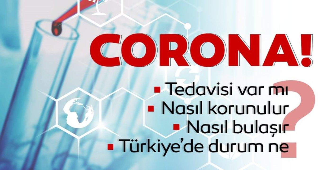 Tüm Dünyaya Yayılan Corona Virüs Nedir?