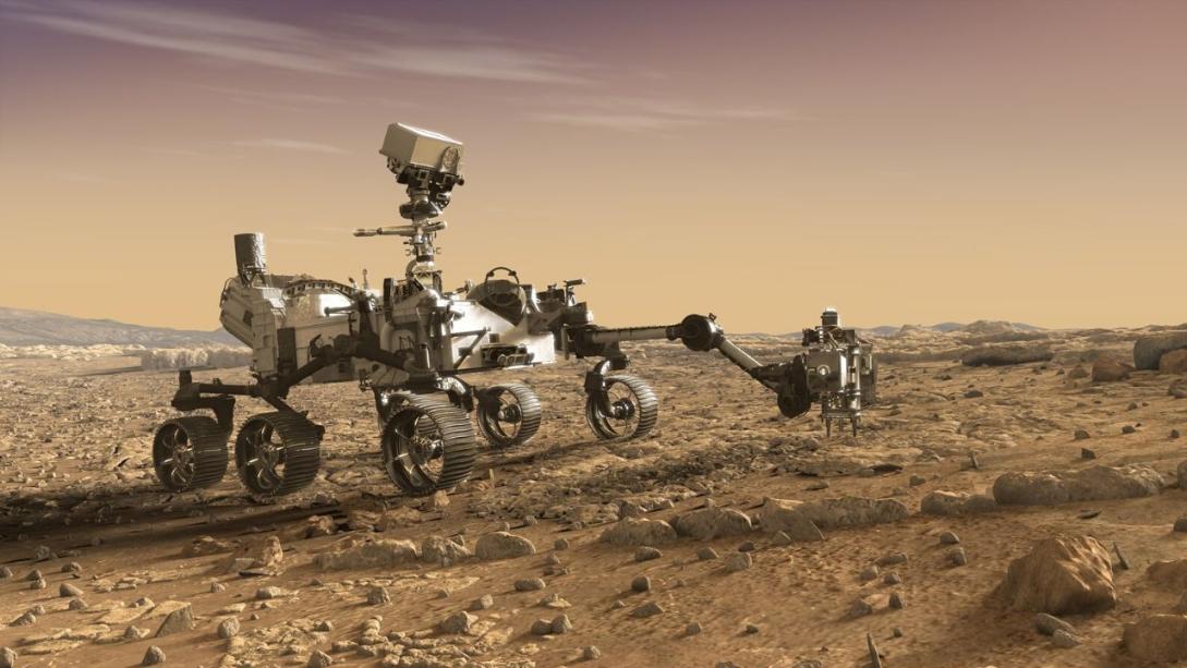 NASA'nın Mars gezgini olan Curiosity yıllardır merakla takip edilen keşiflere imza atıyor. 2017 yılında gerçekleştirdiği çekimle birçok uzayseveri etkisine almıştı.