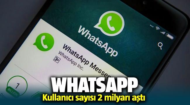 whatsapp 2 milyar kullanıcıya ulaştı   startr sosyal medya