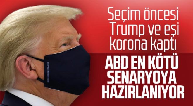 ABD başkanı trump corona virüsükaptı başkanlık görevinden ayrılıyormu ?